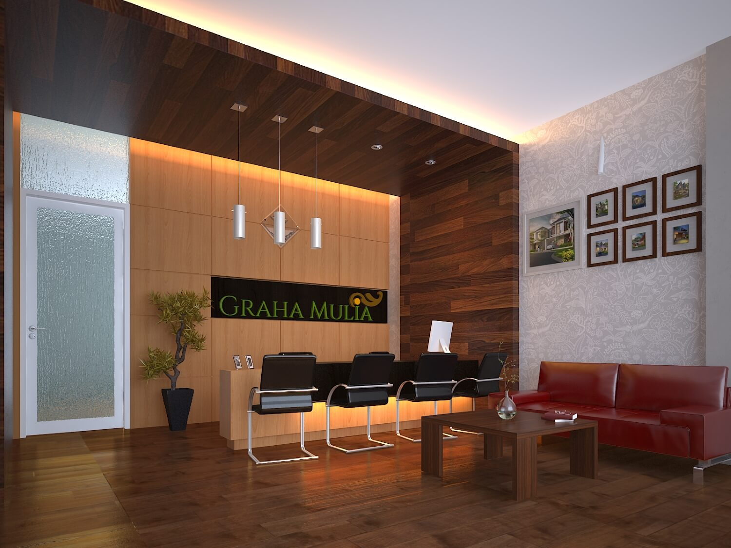 Interior Kantor Marketing